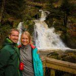 Vodopády ve městě Triberg