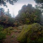 Karlstein - skalka na vrcholu
