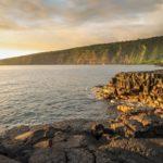 Členité pobřeží na Kealakekua