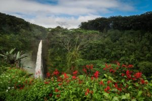 Vodopád Akkaka falls
